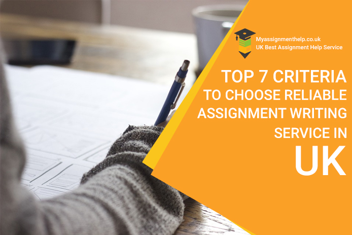 choose reliable assignment writing service in UK