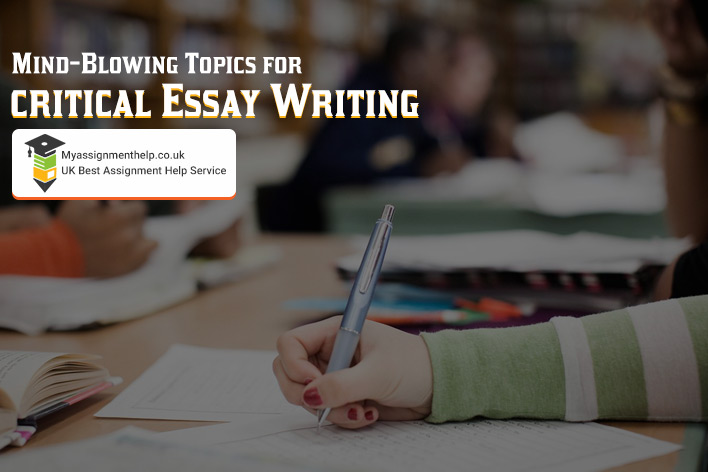CRITICAL ESSAY TOPIC