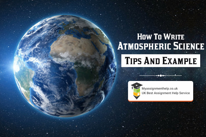 How To Write Atmospheric Science
