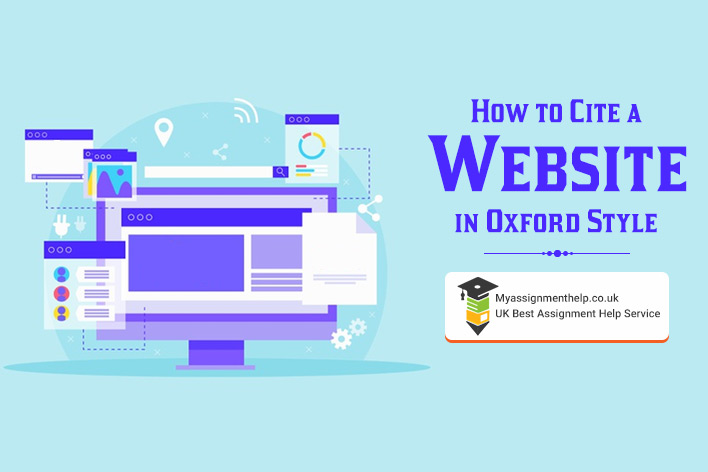Cite Website in Oxford Style